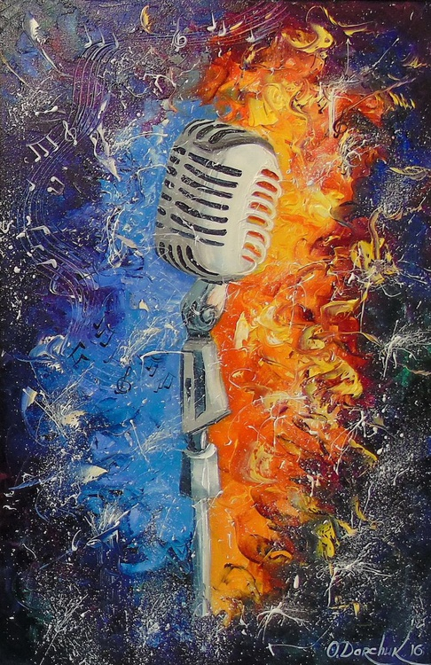Cartoon microphone - Image 0
