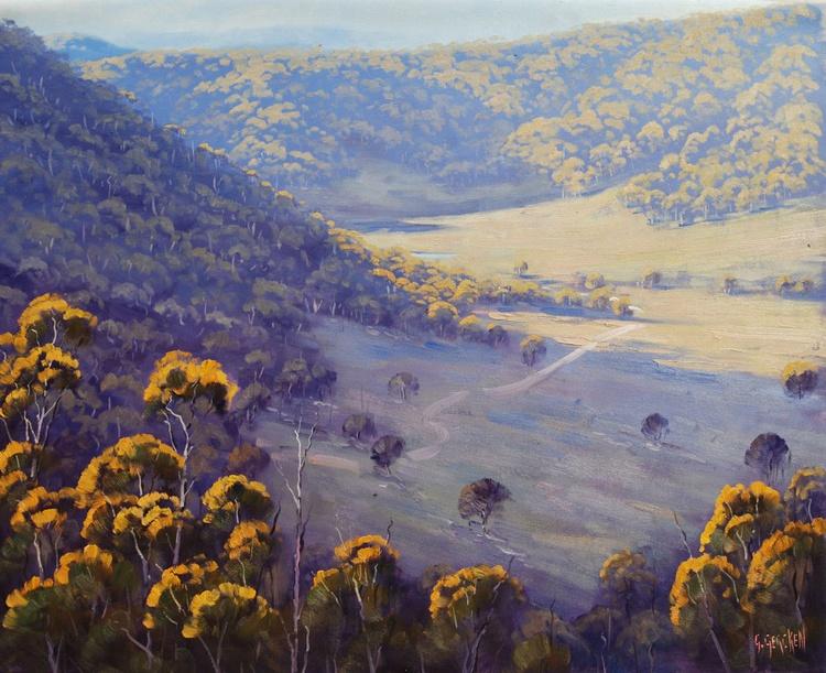 Afternoon Light Wolgan Valley - Image 0