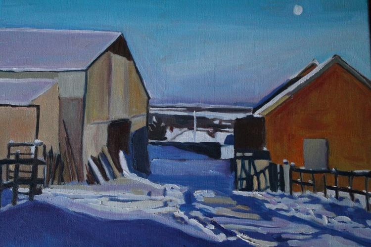Winter Sun on the Farm - Image 0