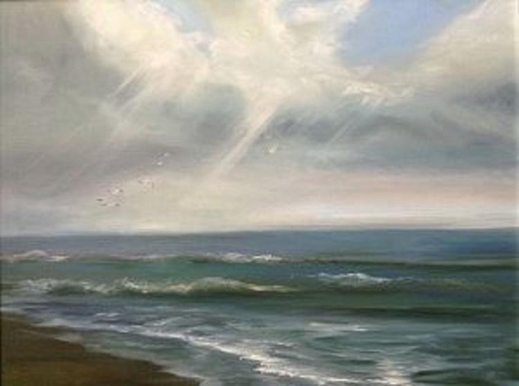 Calm winter sea - Image 0