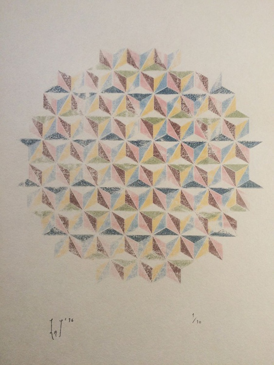 Shapes on a Page. Impression No.2 - Image 0