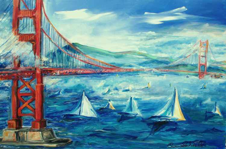 Sailing The Golden Gate -