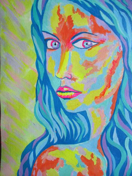 Colorful portrait 2 -