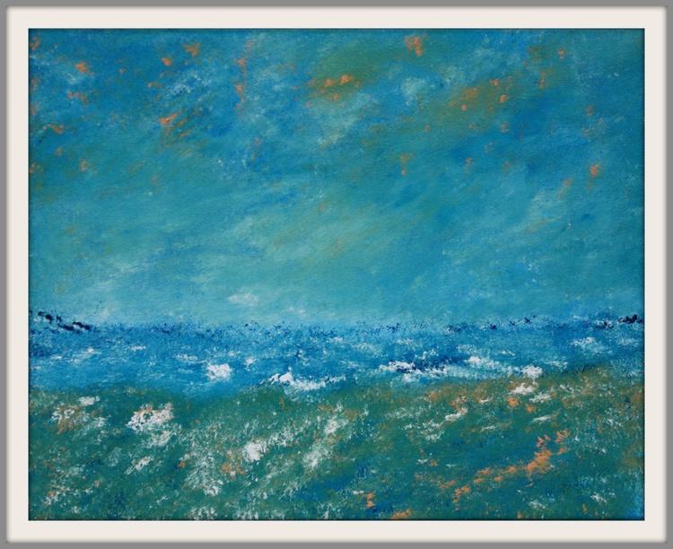 Impressionistic Ocean Landscape - Image 0