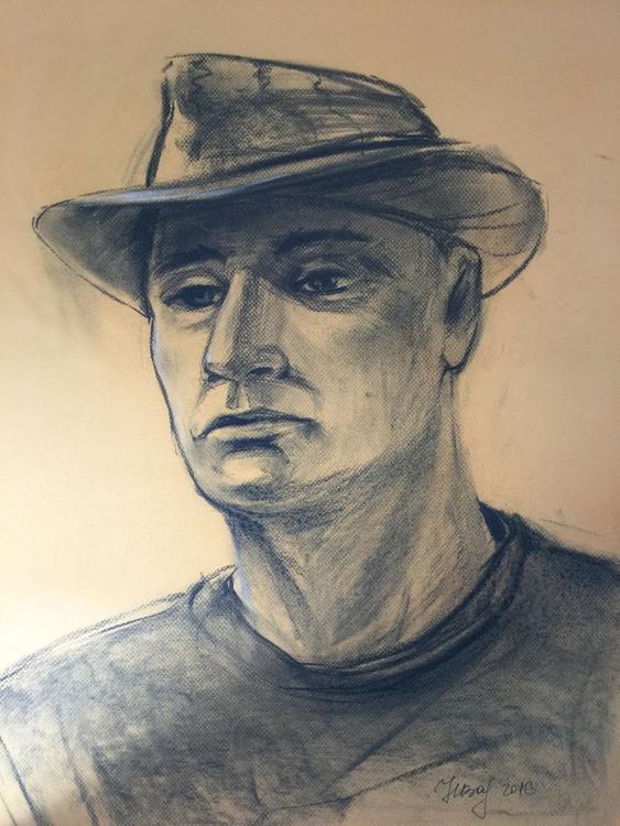 Charcoal portrait - Image 0