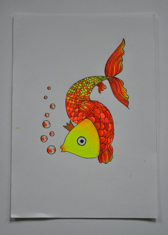 The golden fish - just make a wish - Image 0