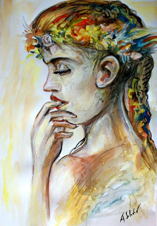 Flower Girl Wreath - Image 0