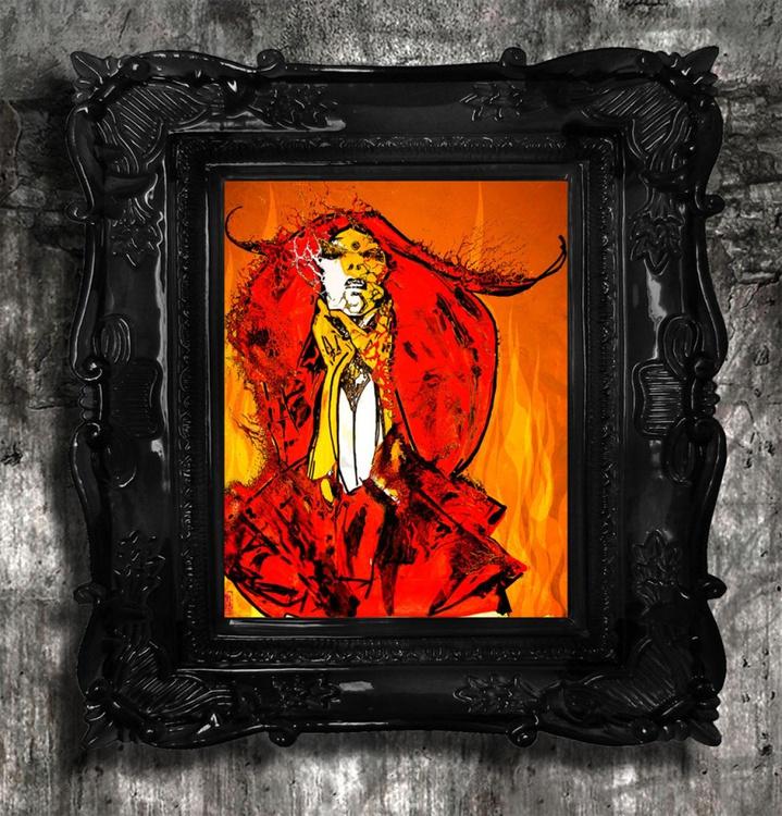 Burning Lady Rose - Image 0