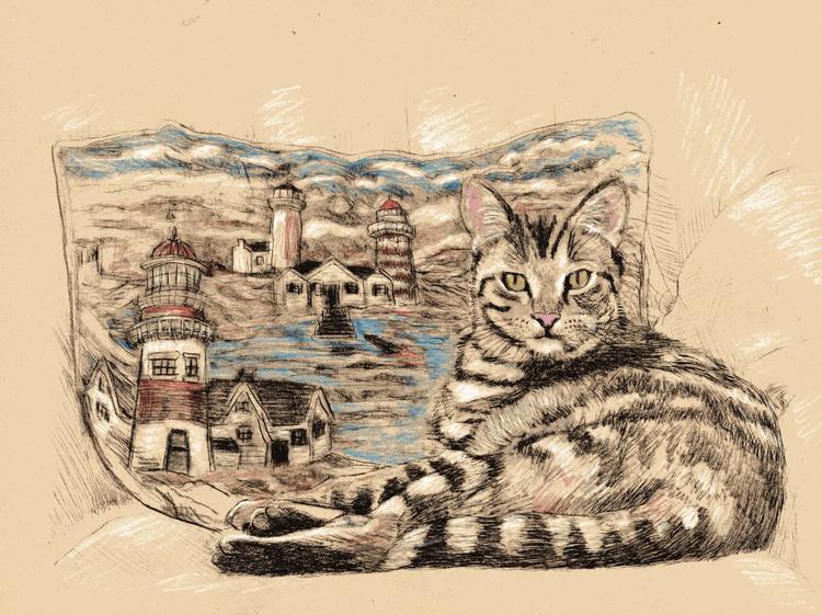 Seaside Cat - Image 0