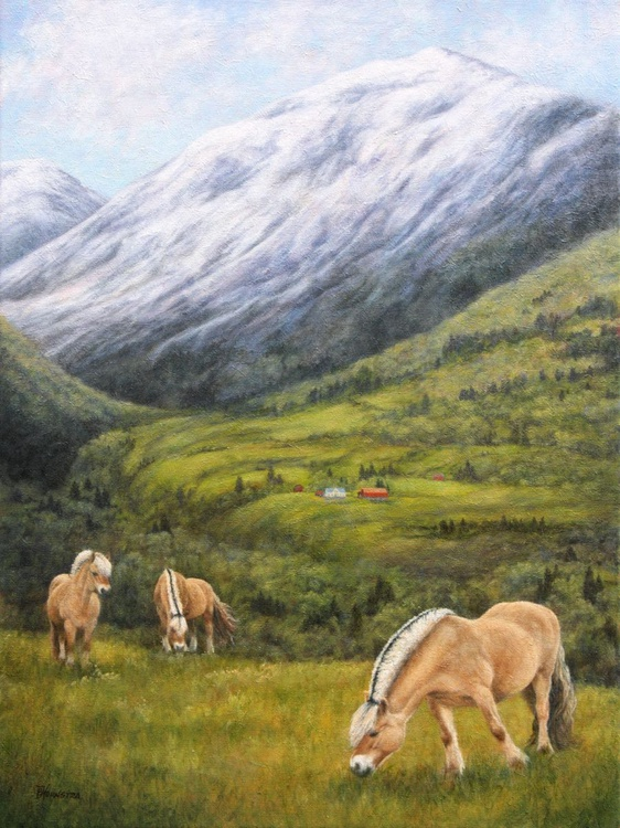 Fjord Horses in Norway - Image 0
