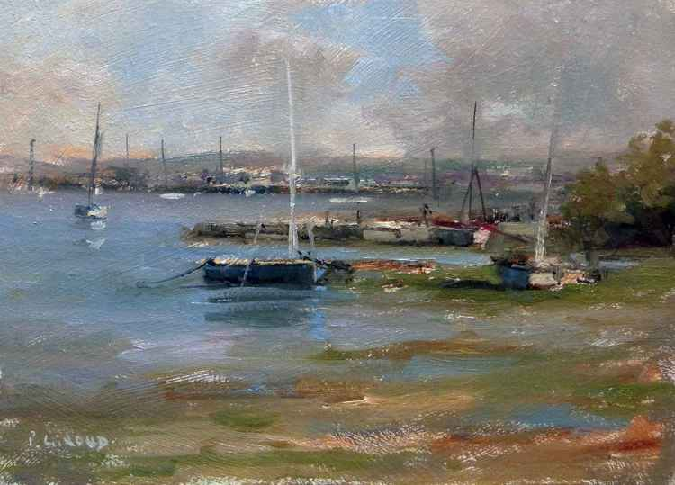 Boats at Low Tide -