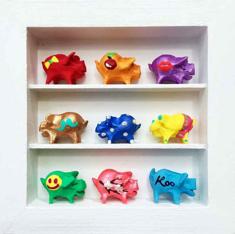Piggy Nation mini -