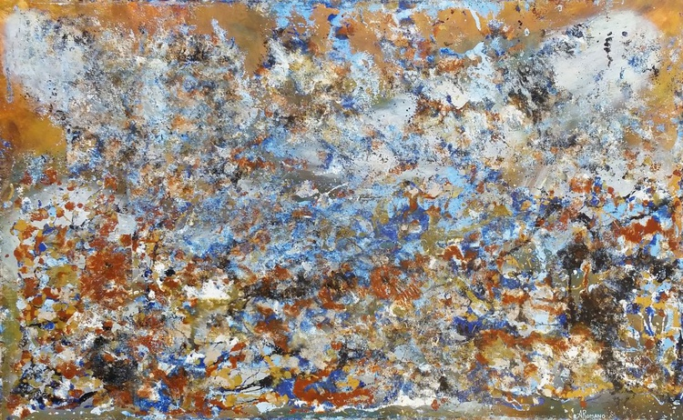 TIDE Abstract Painting - Image 0