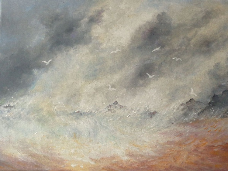 Storm Over the Rocks - Image 0