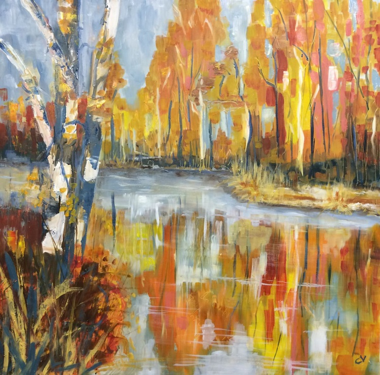 Autumn by the lake 2 - Image 0