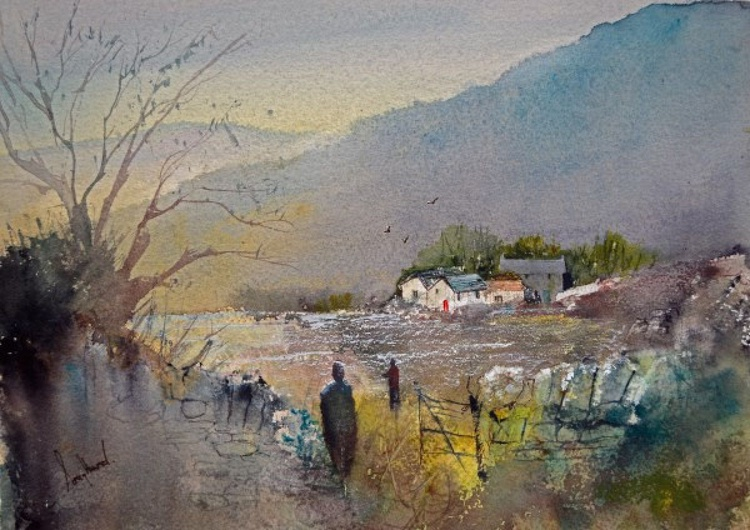 After The Harvest - Original Watercolour Painting - Image 0