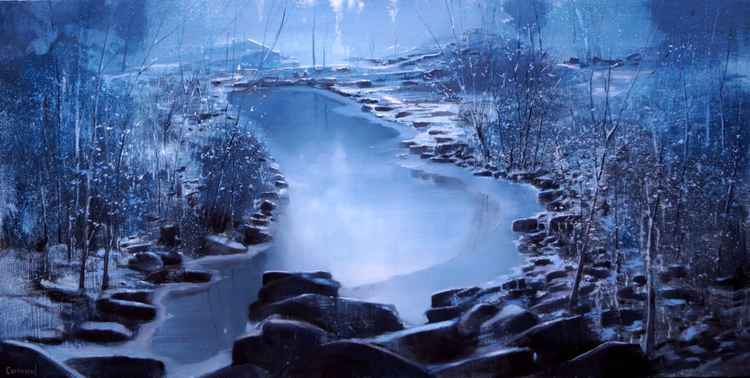 BLUE WINTER  120x60 -