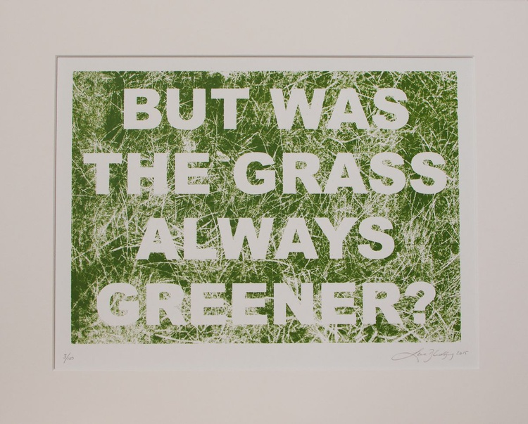 But was the grass always greener? - Image 0