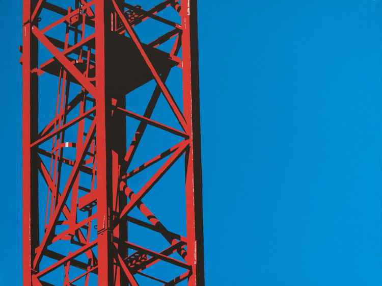 Red Crane -