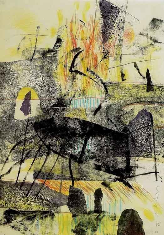Abstract landscape-III