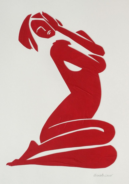 Esther in Red - Image 0