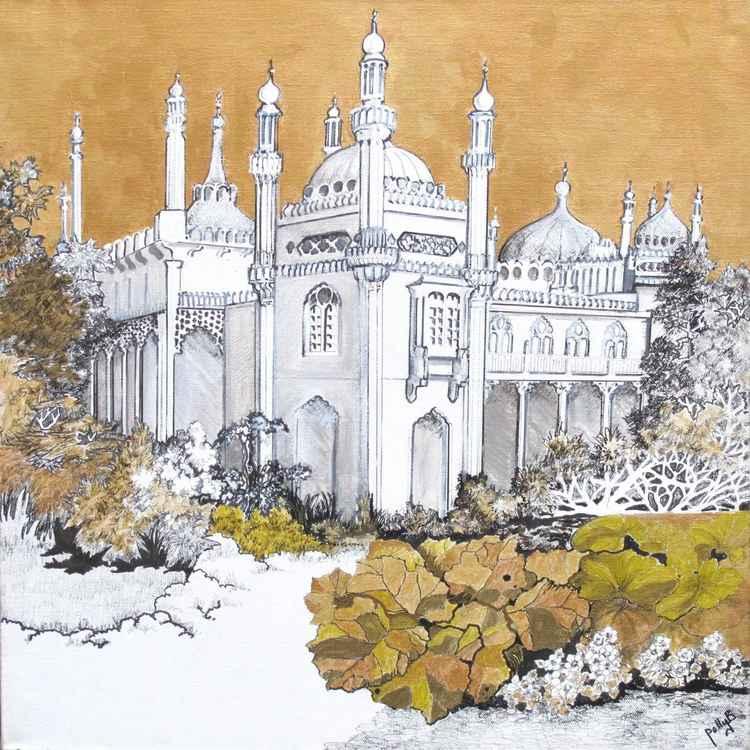 Brighton Pavilion Garden -