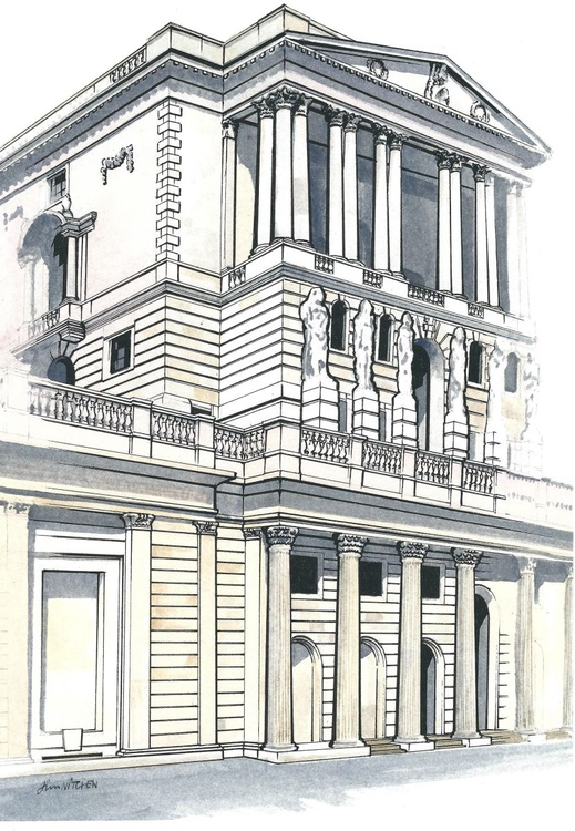 The Old Lady of Threadneedle Street. - Image 0