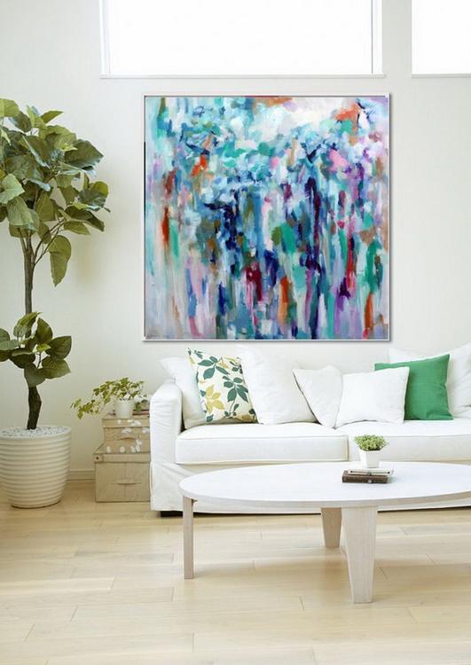 Colourful dream 39x39', 100x100cm - Image 0
