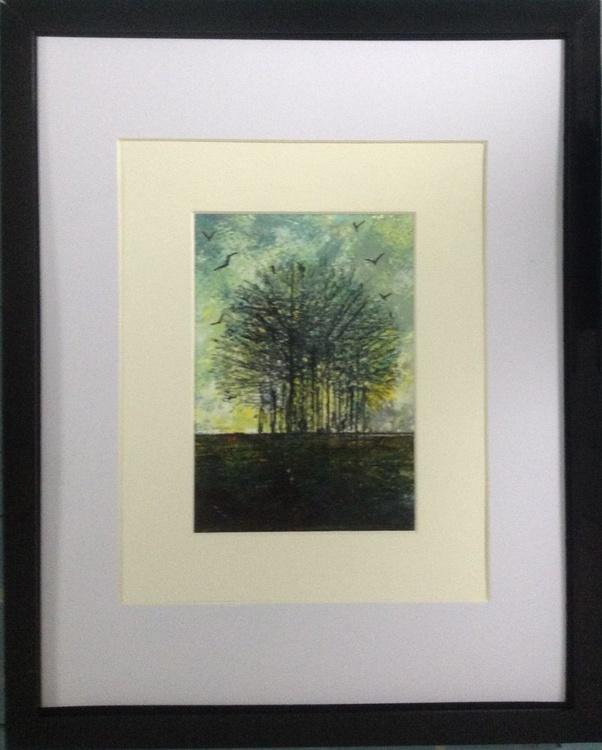 The Lemony Light of Dawn (framed original) - Image 0