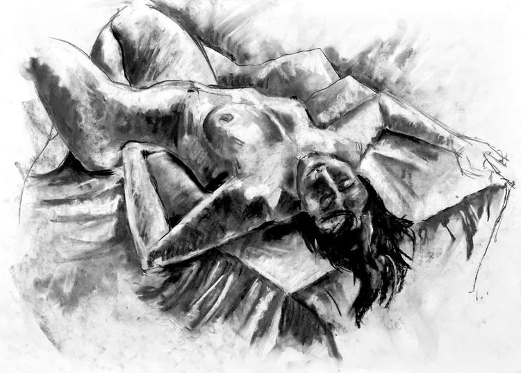 Reclining Nude #5 - Image 0