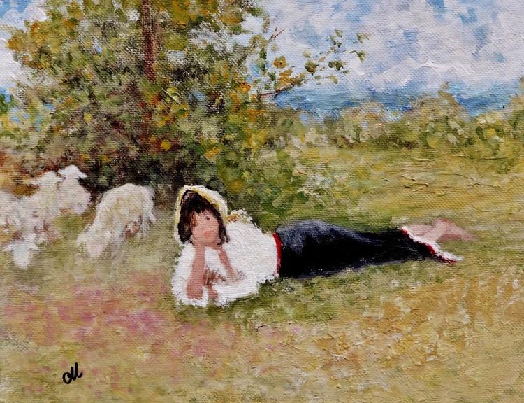 The little shepherdess .. - Image 0