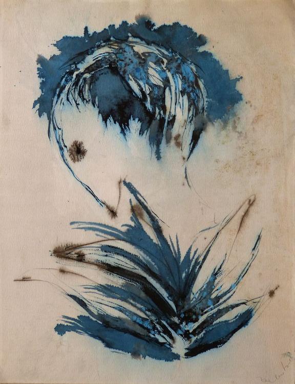 The Blue Bird, 65x50 cm - Image 0