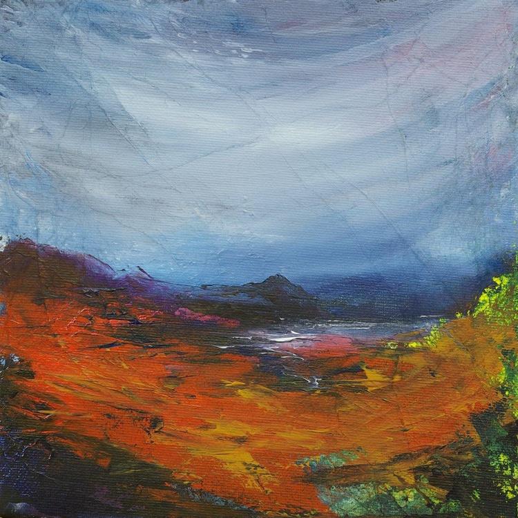 Hidden Bay Loch Sunart, Scottish landscape painting - Image 0