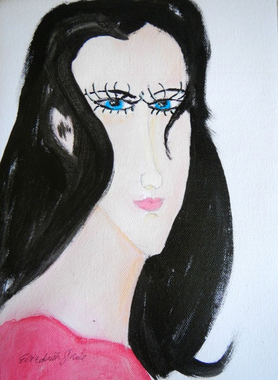GIRL WITH BLUE EYES - Image 0