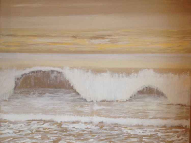 Incoming tide (in a hurry!) -