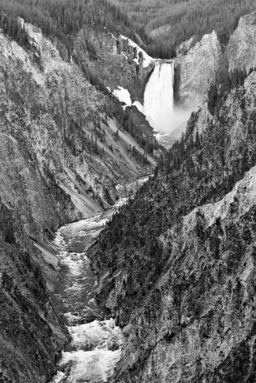 Great Fall of the Yellowstone