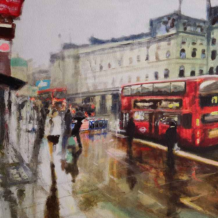 Towards Piccadilly Circus