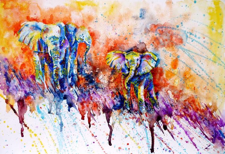 Curious Baby Elephant - Image 0