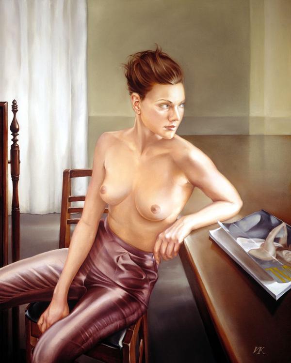 Nude Seated - Image 0