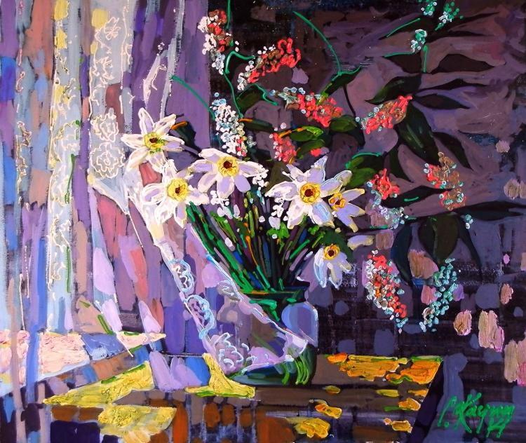 Daffodils window - Image 0