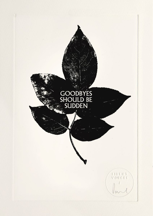 Goodbyes Should Be Sudden - Image 0