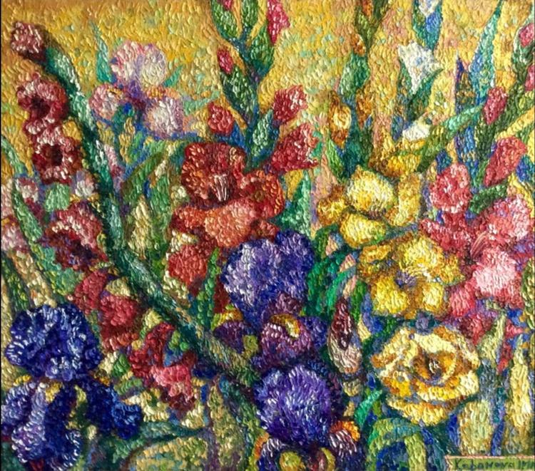 irises and gladiolus - Image 0