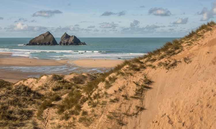 Holywell Bay -