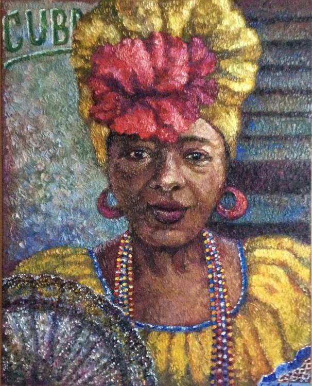 portrait of a Cuban woman - Image 0
