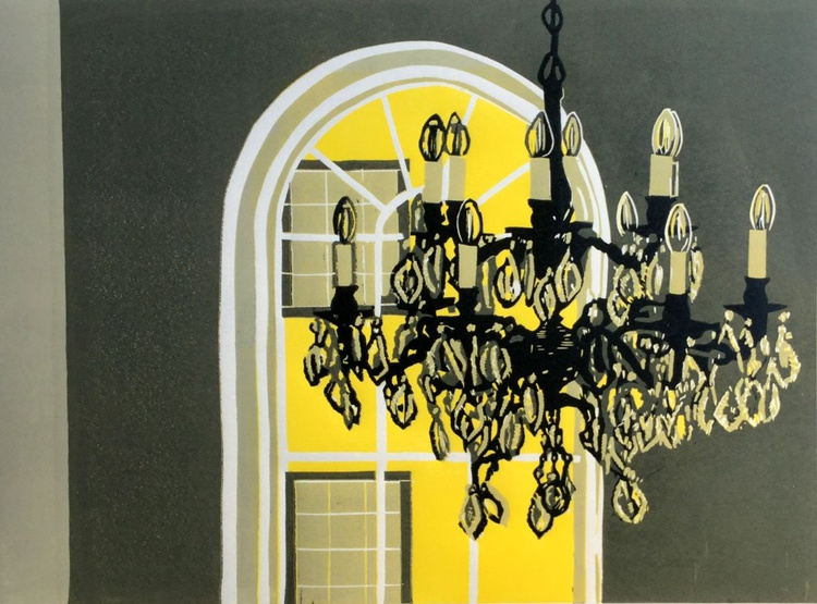 Chandelier at Bank House - Image 0