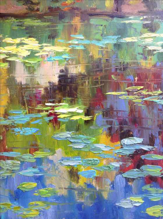 Waterlilies. Autumn -