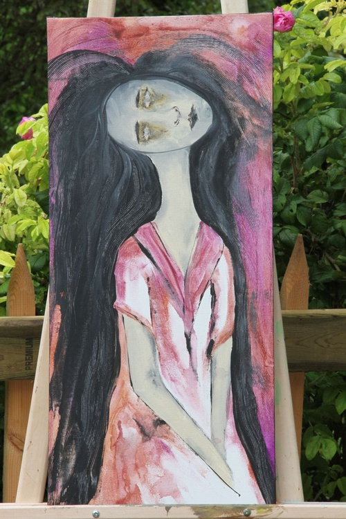 Zombie In A Pink Dress - Image 0