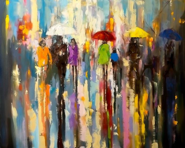 'A Rainy Day Walk' - Image 0
