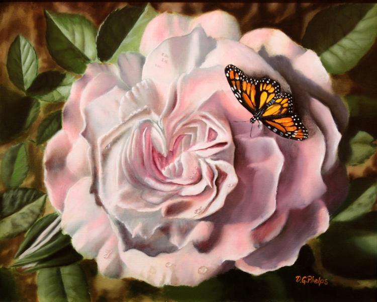 Pink Blossom Rose - Image 0