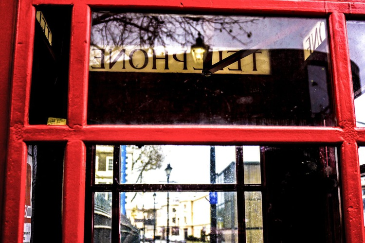 """INSIDE THE TELEPHONE BOX  NO:2 (Limited edition  1/150) 12"""" BY 8"""" - Image 0"""